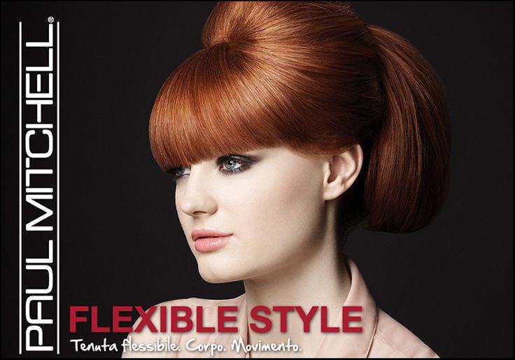 Dona controllo alla tua capigliatura: modella e rimodella i capelli secondo le tue esigenze stilistiche grazie alla linea Flexible Style di Paul Mitchell.