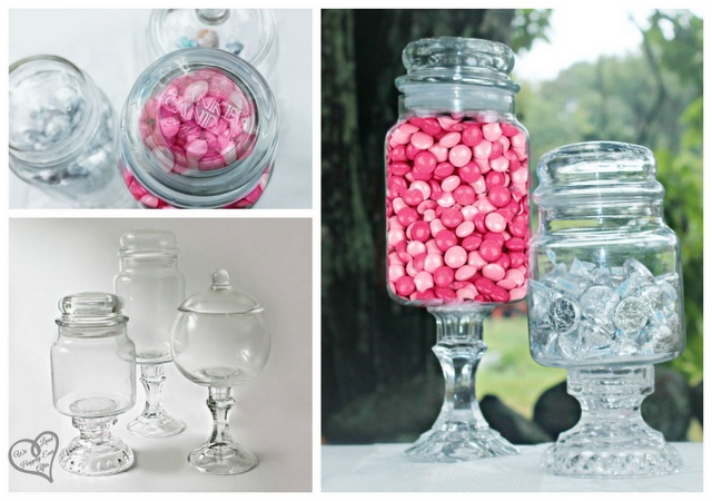 We Lived Happily Ever After: Yankee Candle jar to Candy Jar!