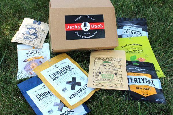 Jerky Snob food and snacks subscription box