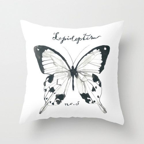 NEW Home Decor Watercolor Art Butterfly Pillow Cover Lepidoptera Study. $37.00 via Etsy. & 39 best BUSINESS IDEAS images on Pinterest | Cushions Decorative ... pillowsntoast.com