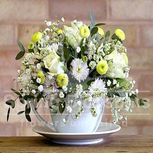 Spring Blossoms mumbai Bouquet - Cup of exotic flowers