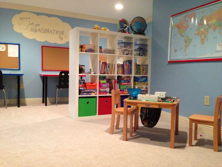 El cuarto de estudio perfecto para los niños
