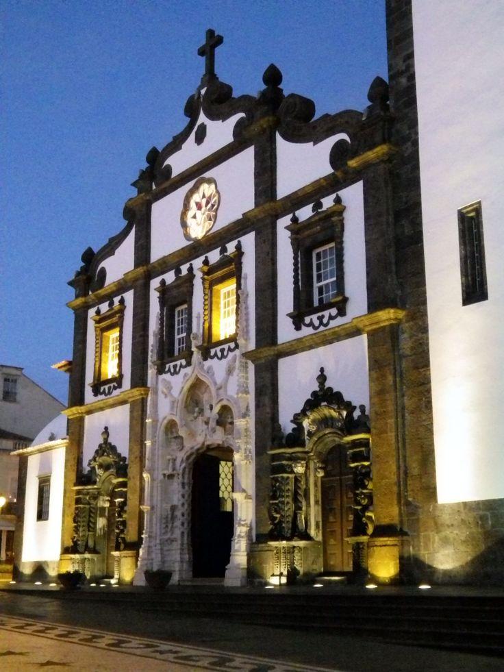 Igreja Matriz de Sao Sebastiao in Ponta Delgada. Taken 2-17-14