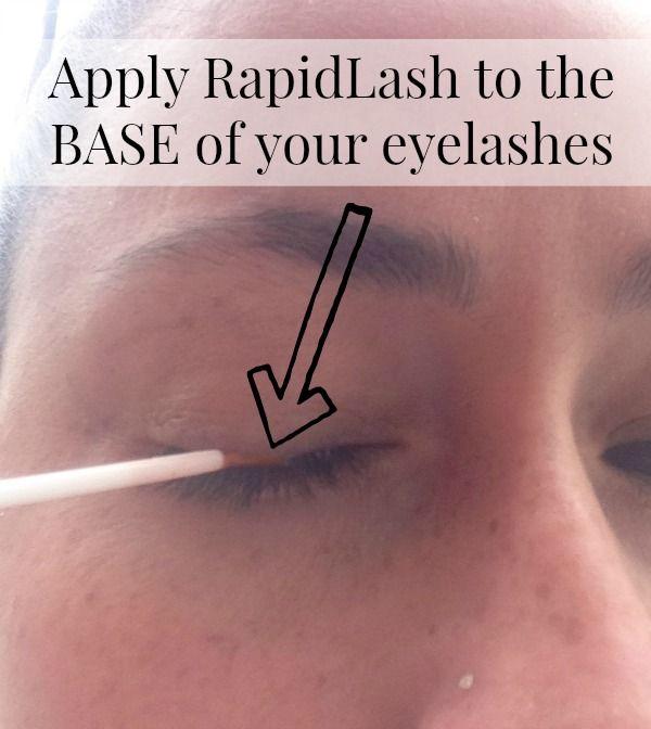 How To Apply Rapidlash Rapidlash Ic Sponsored Beauty Baby