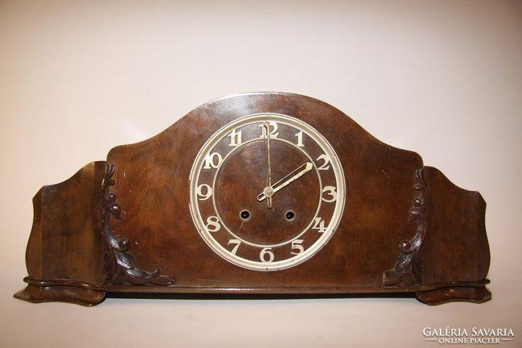 Kandalló óra neóbarok stílusban