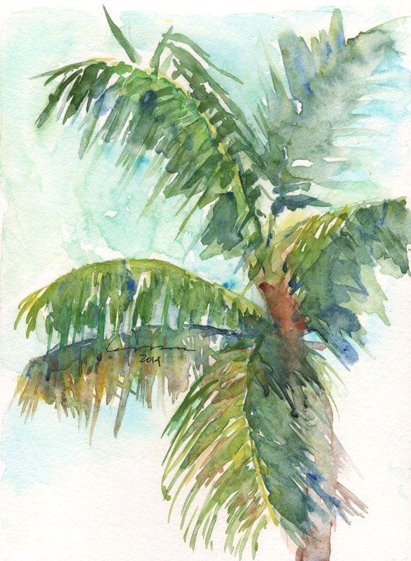 Palm Tree Series #1, Claudia Hafner