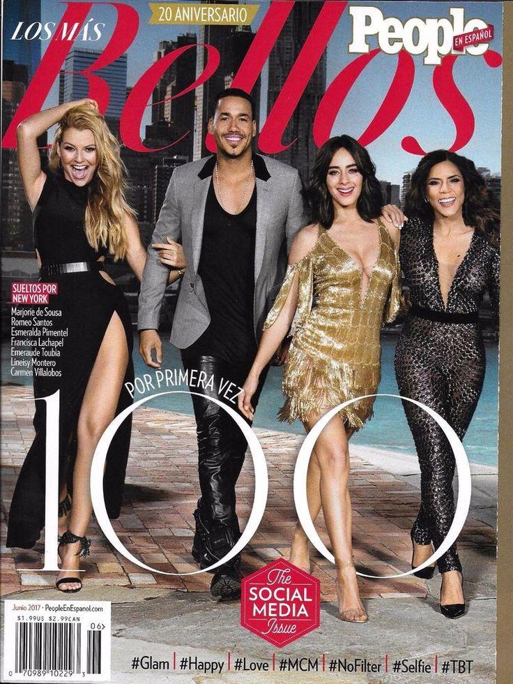 People magazine 50 most beautiful Romeo Santos Marjorie de Sousa Social media