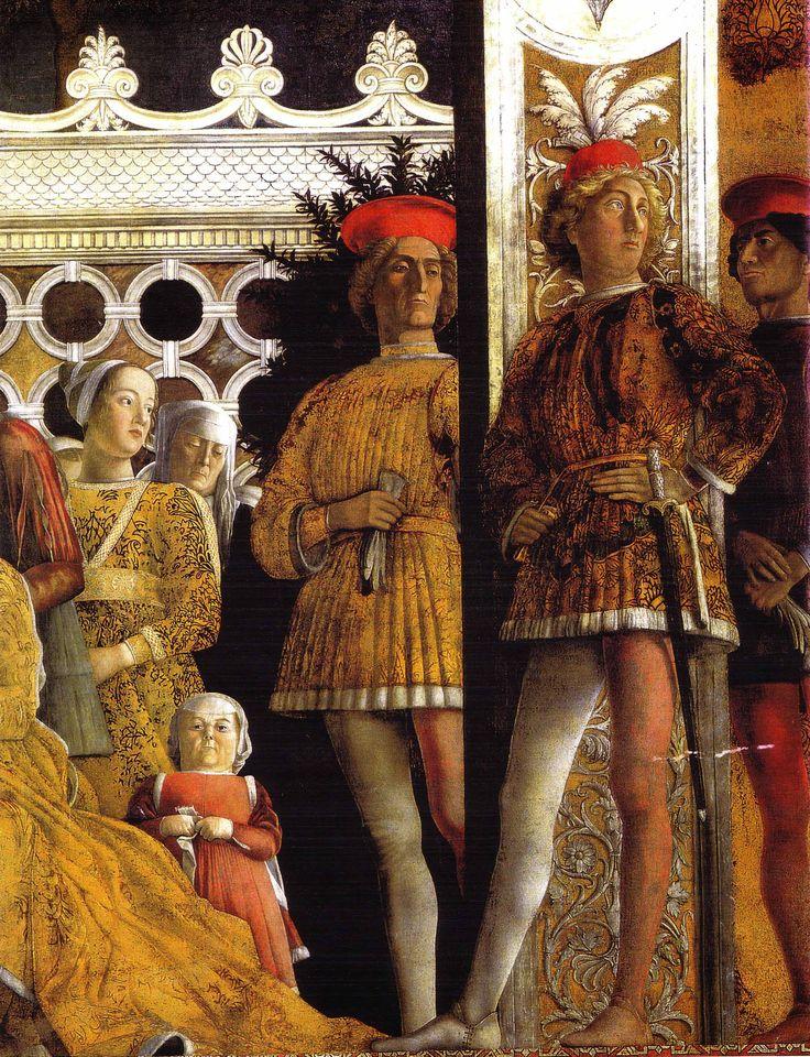 Andrea Mantegna, fresco 1465-74 Mantova Castel San Giorgio