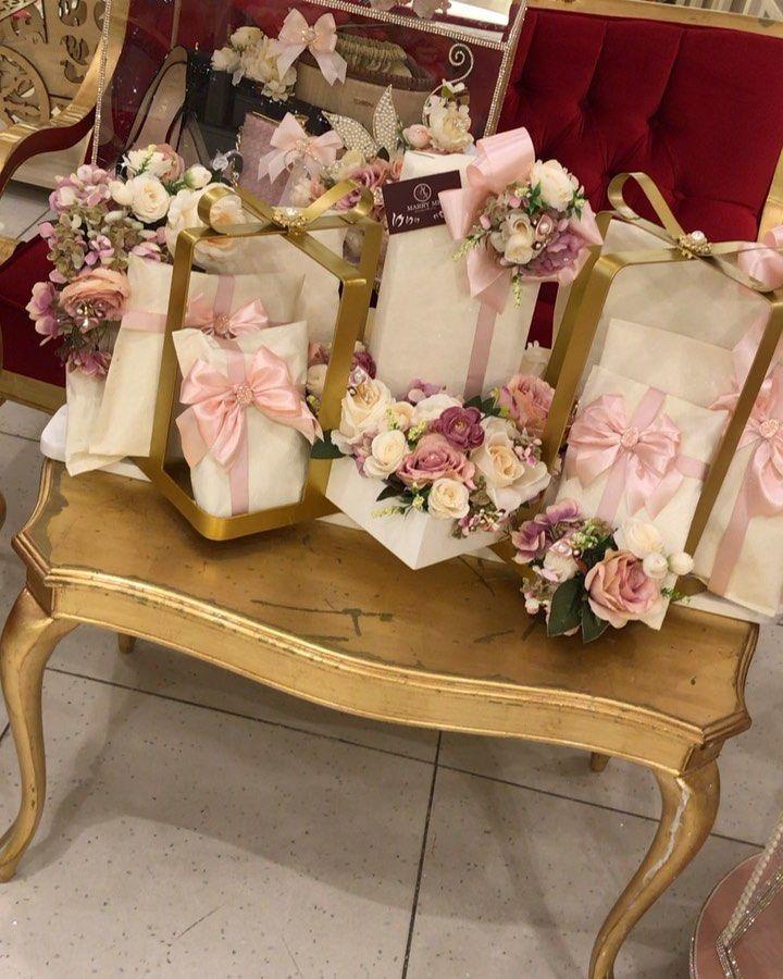 Bizim Dəyərli Mustərimiz Allah Sizi Xosbəxt Eləsin Creative Wedding Gifts Bride And Groom Gifts Wedding Gift Boxes