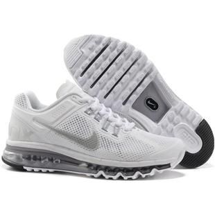 http://www.asneakers4u.com/ Discount Nike air max 2013 for sale mens&womens shoes white Sale Price: $65.30