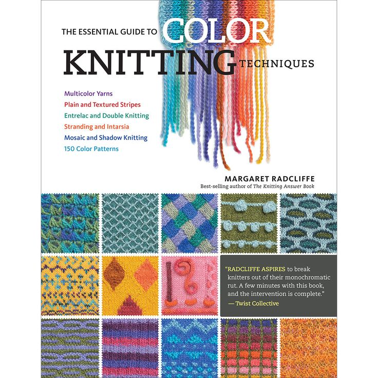 Storey Publishing Guide To Color Knitting Techniques