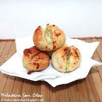Pão de Alho com Queijo na AirFryer - Fritadeira sem Óleo - AirFryer