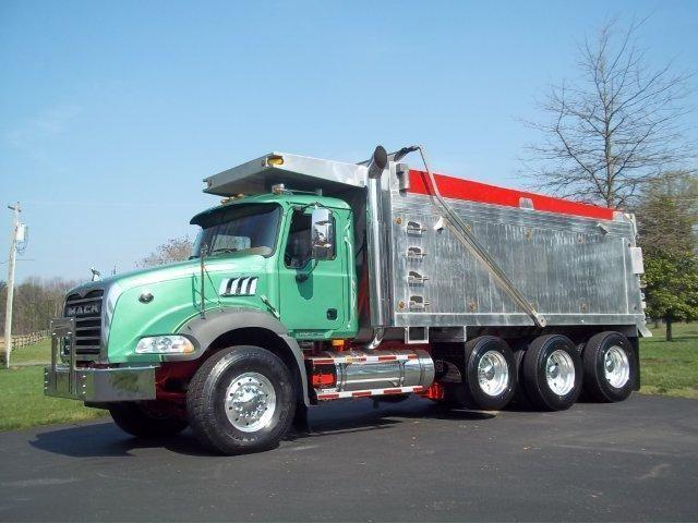 Mack Granite GU813 Trucks http://www.nexttruckonline.com ... - photo#1