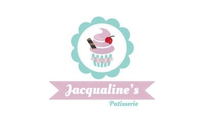 A quirky modern design for a local small business - Jacqualines Patisserie