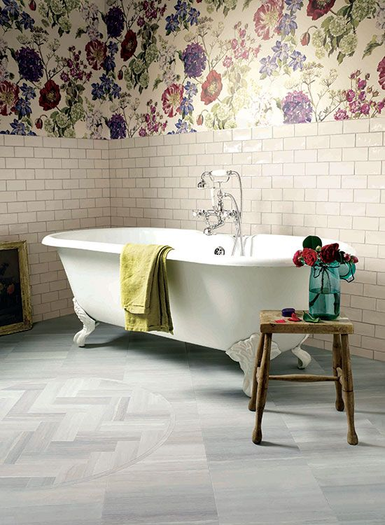 Flooring, Sedimentary Grey and Alchemy Atmosphere from the Signature Collection by Amtico, £70 a square metre, Amtico