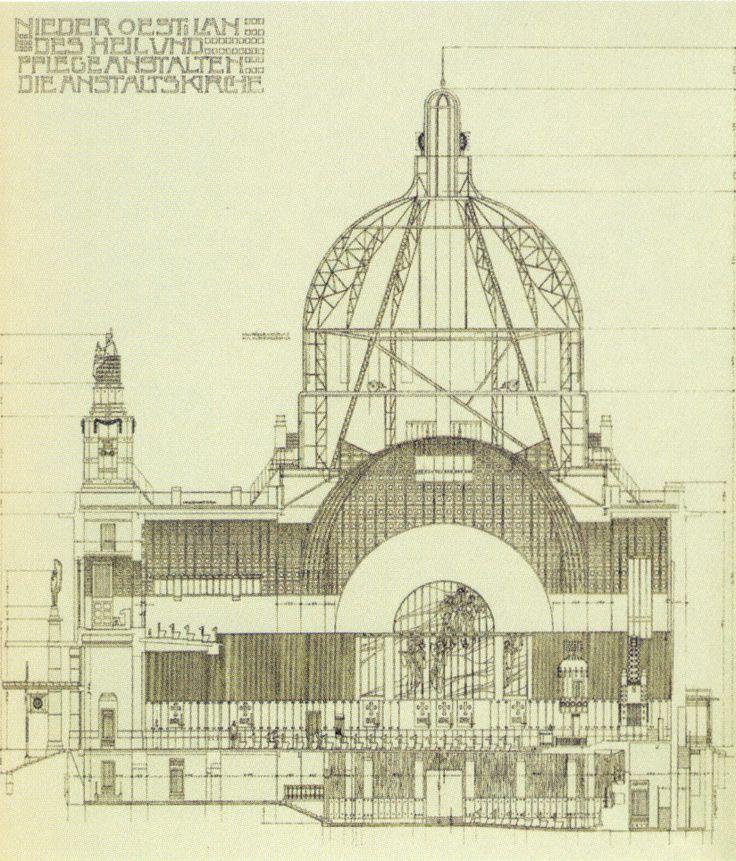 Church of San Leopoldo in Steinhof - Data, Photos & Plans - WikiArquitectura
