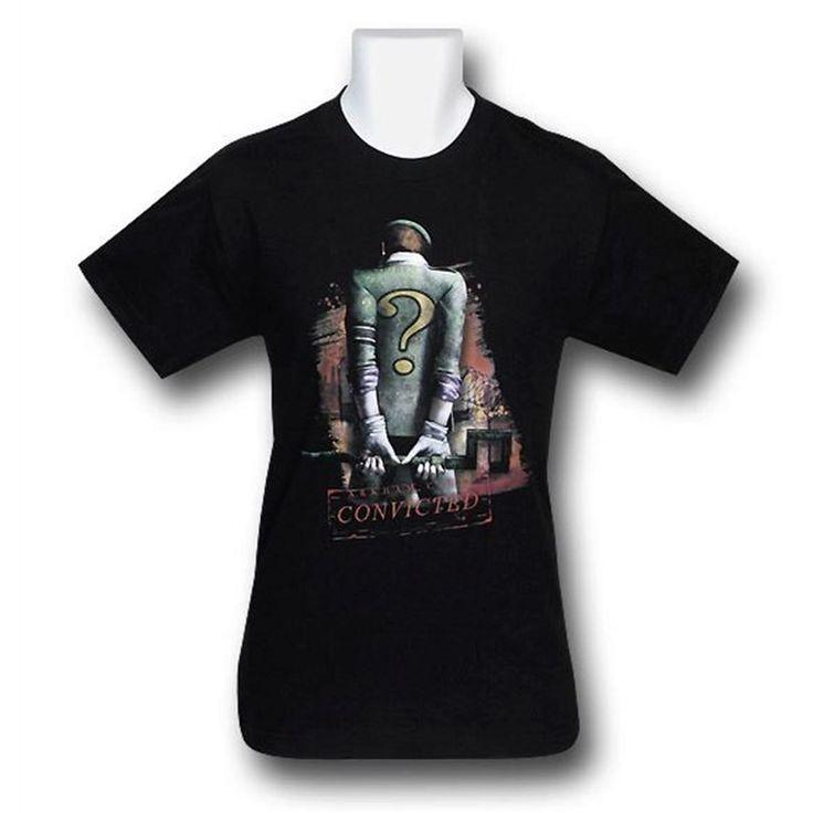 Arkham City Riddler Convicted T-Shirt