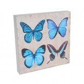 Blue Butterfly Wall Art Hang or stand, 20x20cm $4.95 www.divineinspirations.com.au https://www.facebook.com/divineinspirations4u