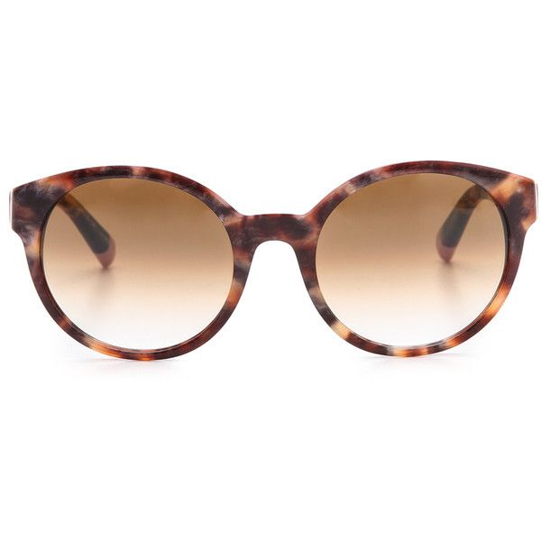 Etnia Barcelona Africa 01 Leopard Sunglasses - Leopard Pink found on Polyvore