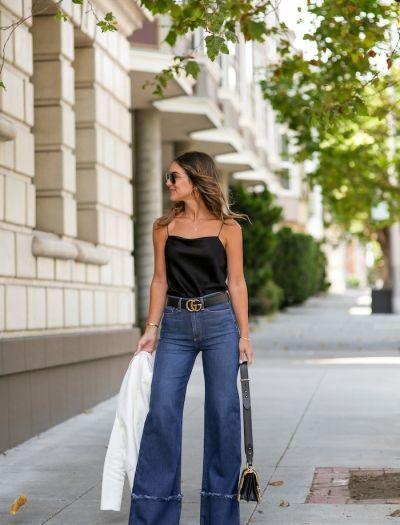 7d53d9497 high waist flare jeans