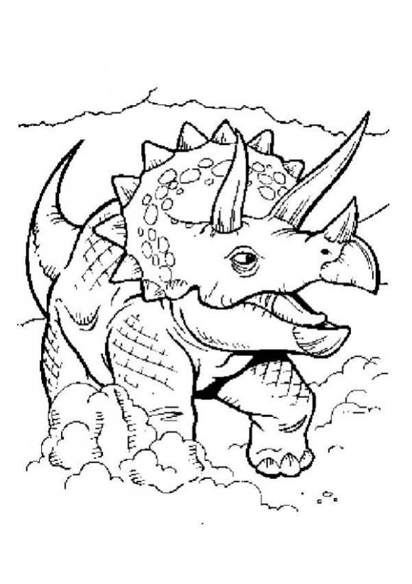 coloring sheets palm trees scriptures triceratop coloring pages triceratops coloring page - Coloring Pages Dinosaurs Printable