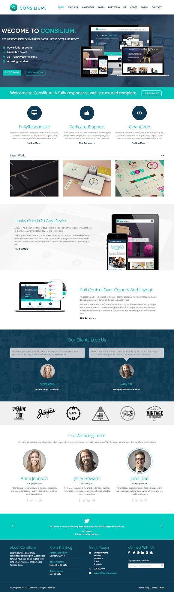 2116 besten Website Themes Bilder auf Pinterest | flaches Design und ...