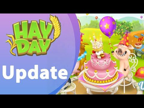 HAY DAY SOMMER UPDATE 2016 Farm Level 98 Sommerupdate 21.06.16 - YouTube