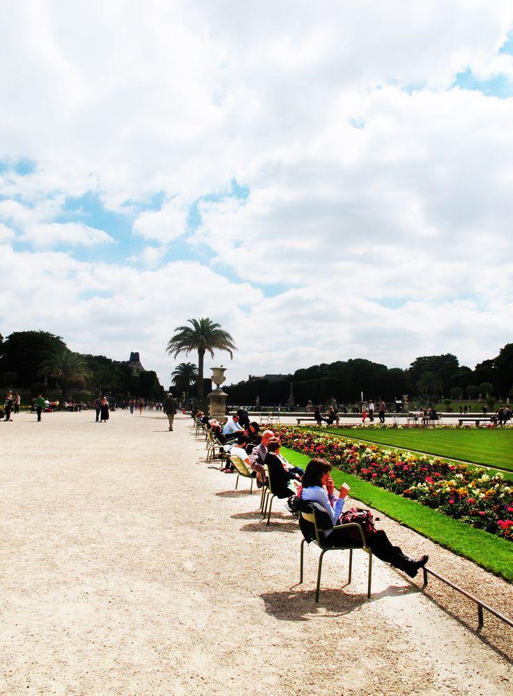 Soak up the sun like a true Parisian in Jardin du Luxembourg with its wonderful scenery.