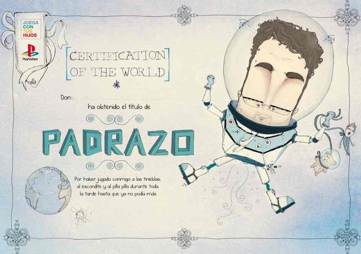 """""""Diploma papá y mamá"""" de TBWA para Sony PlayStation, obtiene los galardones enlas categorías """"Gráfica: Juegos"""" y """"PLV""""."""