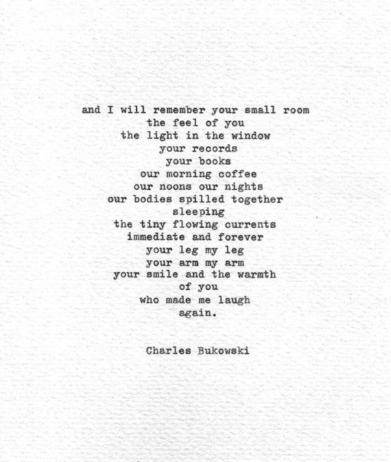 Google Image Result For Https I Etsystatic Com 10074862 R Il Bb93f0 899255180 Il 570xn 899255180 Shmg Jpg Charles Bukowski Quotes Typewriter Quotes Words