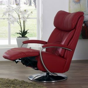 The Easy Swing Armstrong #recliner chair can be customised in several different ways, enabling you to create the perfect chair for your body and your home. It comes in a wide range of colours and can recline either manually or automatically. The height is adjusted via gas lift operation, and the head rest can be adjusted independently of the rest of the chair.