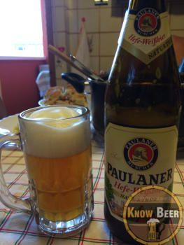 Birra Paulaner, famosa sia per l'oktoberfest che per lo sponsor del Bayern Monaco.