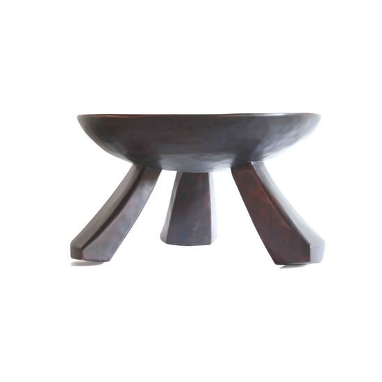 Circular 3 Legged Tabouret |  Authentic traditional and cultural global products. 100% hand crafted. All logs are dried naturally and may have cracking, checking, beetle excava... view details on www.treniq.com