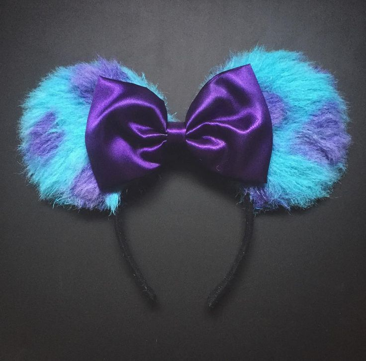Sully Minnie ears! Cute!                                                                                                                                                                                 More