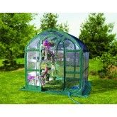 FLOWERHOUSE 6' x 6' CLEAR POP-UP GREENHOUSE CA $299.97