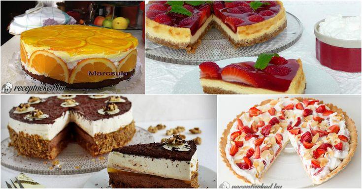 10 szuper torta, amit imádni fogsz!