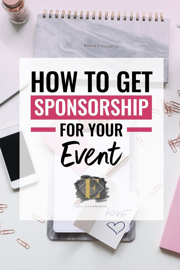 If you're putting together a larger event, chances are you're considering how to get event sponsorship. #sponsored #event #eventplanning #events