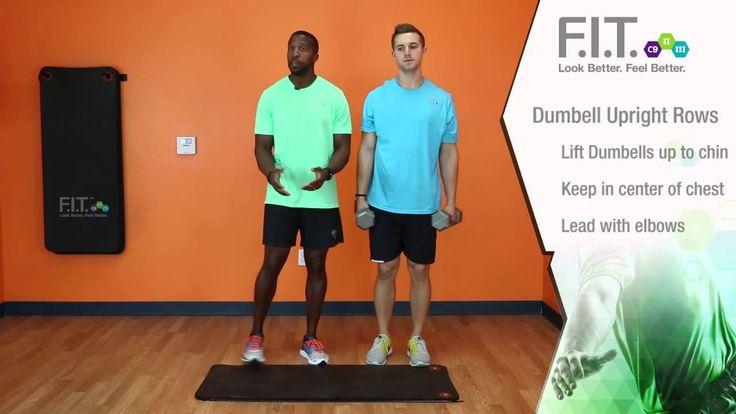 F.I.T. Exercises - Dumbell Upright Rows  http://myforeverfit.flp.com