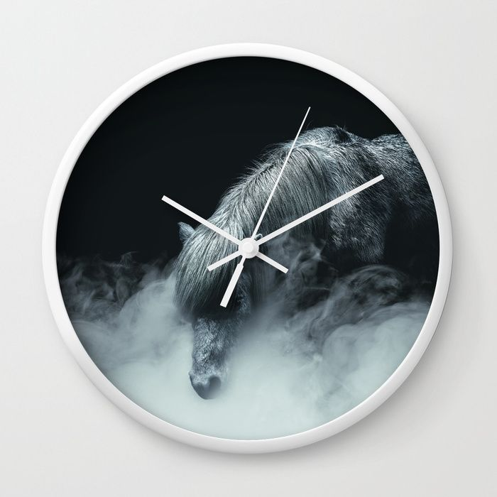 Things change Wall Clock by HappyMelvin. #horse #photography #fineart #wallclock