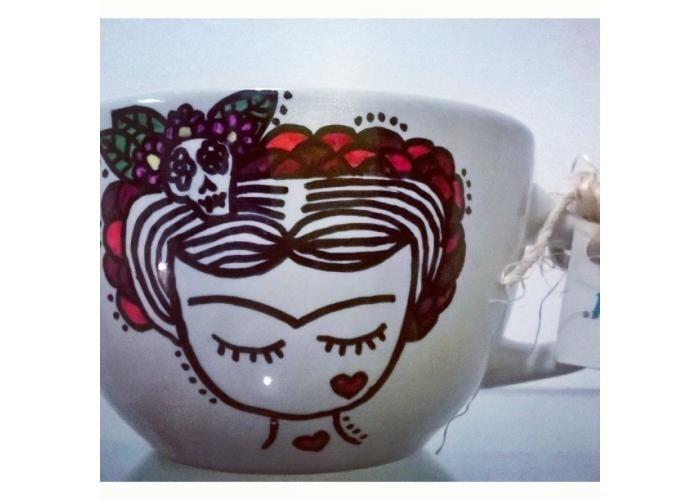 """SWEET CUPS: Taza """"FRIDA KAHLO"""" - Kichink"""
