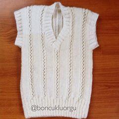 Bebek yeleği #bebekorguleri #bebekyelegi #elörgüsü #örgü #knitting #knittersoftheworld #knittinglove #strikking #stricken #tricot #instaknit #instalike #instagood #like4like #cokmarifetli135