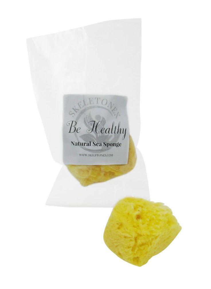 Be Healthy - Natural Sea Sponge - Medium