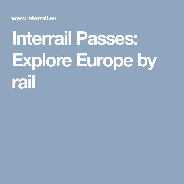 Interrail Passes: Explore Europe by rail