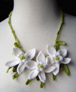 Crochet Necklace - Picture Idea