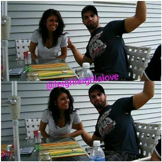 Seth rollins and his girlfriend