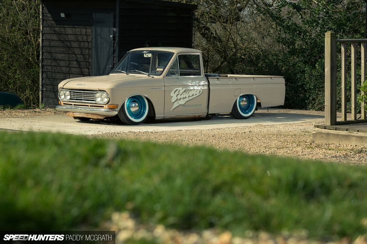 Low And Slow: A Datsun 520 Pickup… Players Style ...