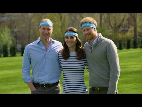 William, Catherine & Harry - London Gets Its Headbands On! #HeadsTogether