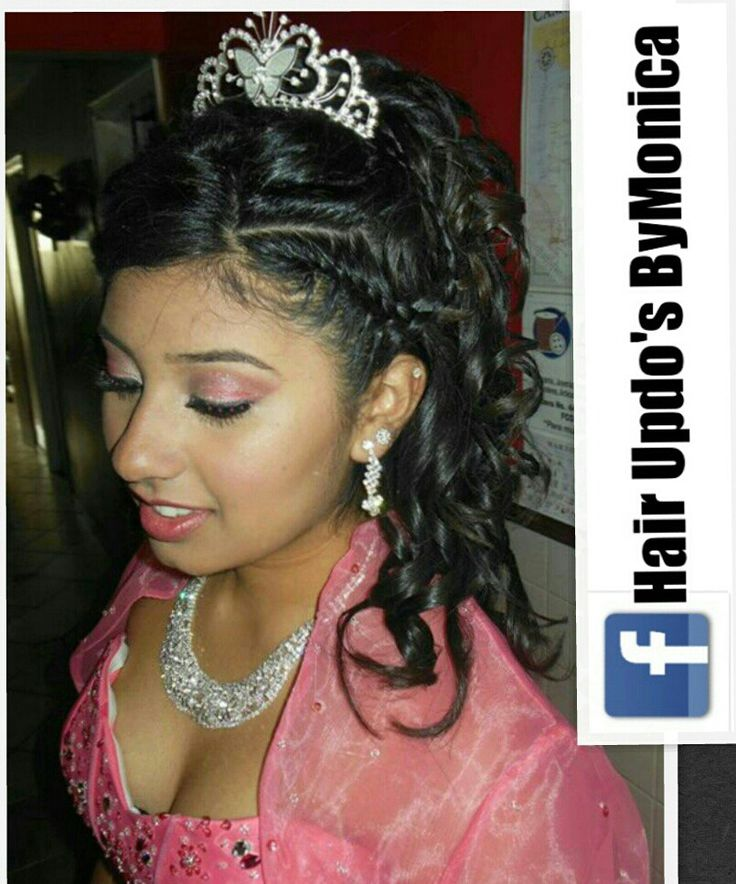 Quinceanera Hairstyles 3 Find This Pin And More On Quinceanera Hairstyles By Hairupdos