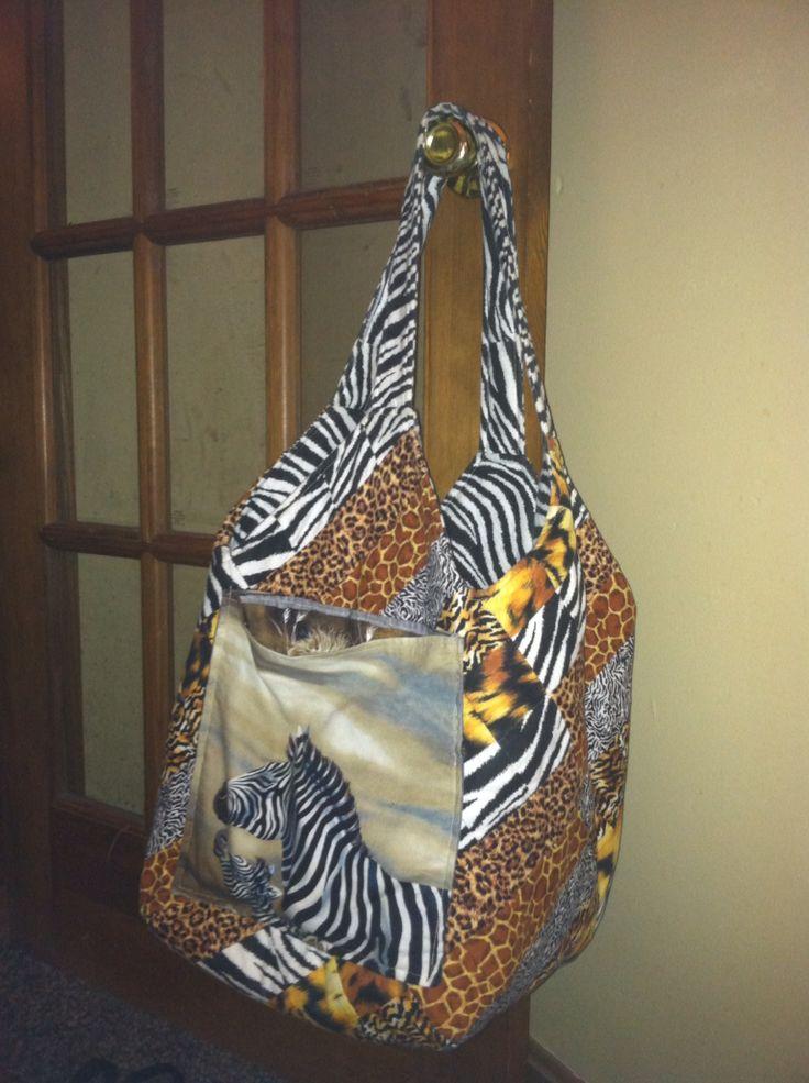 Katie S Animal Print Mondo Bag I M So Glad I Made This