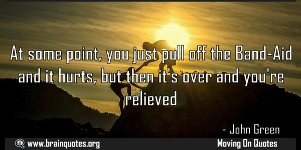 At some point you just pull off the BandAid and it hurts but then its over Meaning  At some point you just pull off the Band-Aid and it hurts but then it's over and you're relieved  For more #brainquotes http://ift.tt/28SuTT3  The post At some point you just pull off the BandAid and it hurts but then its over Meaning appeared first on Brain Quotes.  http://ift.tt/2lzd96W